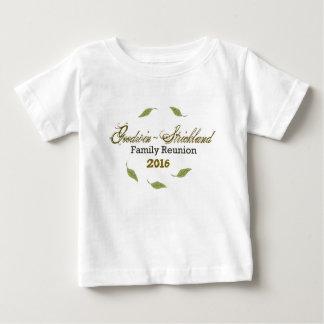 Goodwinの~のStricklandの懇親会はからかいますワイシャツ(ベビー)を ベビーTシャツ