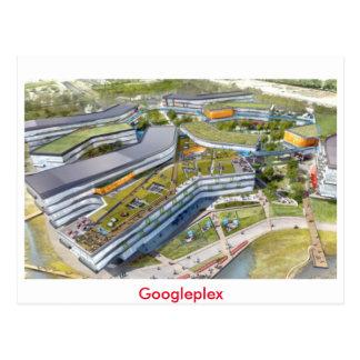 Googleplexの郵便はがき ポストカード