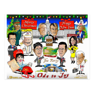 GOPのクリスマス ポストカード