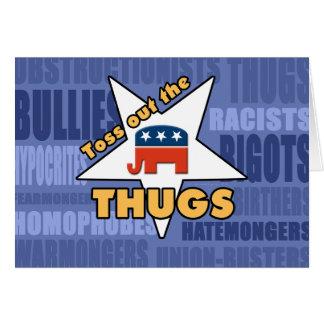 GOPの刺客を投げ出して下さい! カード