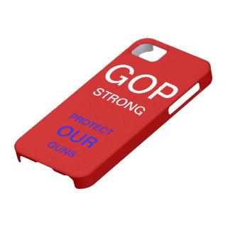 GOPの強いテーマの箱 iPhone SE/5/5s ケース