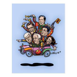GOPの第一次車 ポストカード