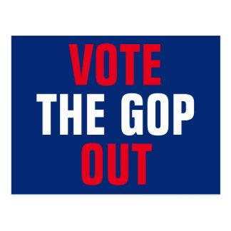 GOPの2018年の選挙を投票して下さい ポストカード