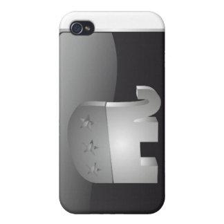 GOP)象のSmartphoneの共和党の(場合 iPhone 4/4S Cover