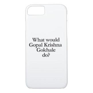 gopal krishnaのgokhaleする何が iPhone 8/7ケース
