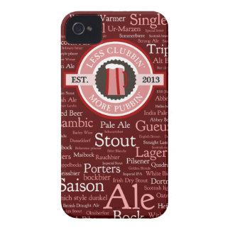 GoPubbinビールはiphone 4ケースのスタイルを作ります Case-Mate iPhone 4 ケース
