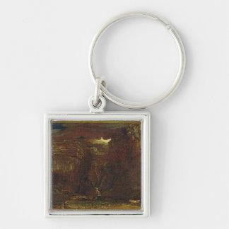 「Gordale傷」ののためのスケッチ、c.1812 (キャンバスの油) キーホルダー