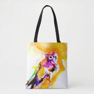 Gorgeous Gorget Hummingbird Print トートバッグ