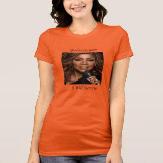 Goriaゲイナーの女性のRacerbackのTシャツ Tシャツ