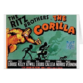 """""""GorillaのRitz Bros カード"""