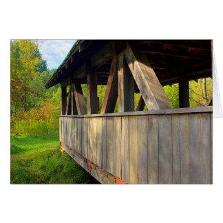 Gormanの屋根付橋 カード