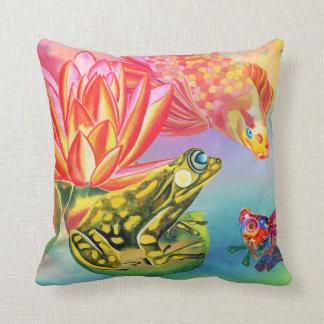 Gossipingの金魚のデザインの装飾的な枕 クッション