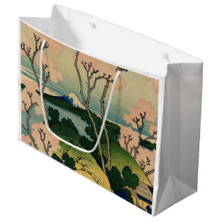 Goten-yamaの丘、Tōkaidō.のShinagawa ラージペーパーバッグ