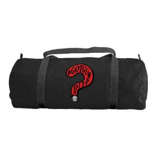 #GOTGUMPTIONの疑門符のベンフランクリンのデザイン ジムバッグ