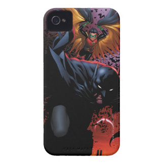Gotham上のバットマン及びロビン飛行 Case-Mate iPhone 4 ケース