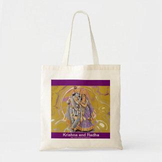 Gothicchicz KrishnaおよびRadhaのバッグ トートバッグ