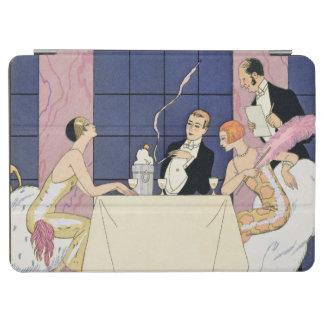 Gourmands 1920-30年(pochoirのプリント) iPad air カバー