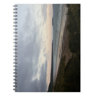 Gowerのビーチのノートの地平線 ノートブック
