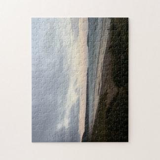 Gowerのビーチの写真のパズルの地平線 ジグソーパズル