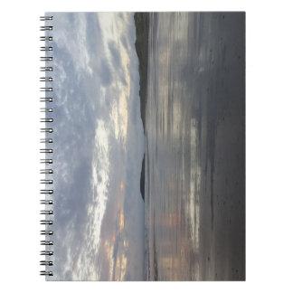 Gower半島のビーチのノートの反射 ノートブック