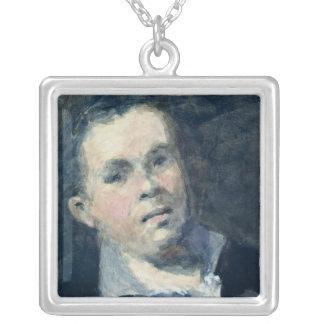 Goyaの頭部 シルバープレートネックレス