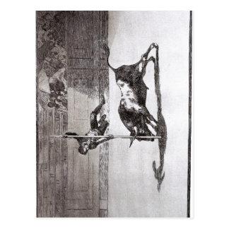 Goya Juanito Apiの速度そして敢えてすることか。Thのオオハシカッコウ ポストカード