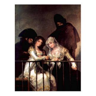 Goya y Lucientes、フランシスコdeのpossiの模倣者 ポストカード