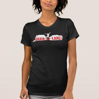 GRAB-A-LANEのオリジナルの通りの競争のロゴ(女性) Tシャツ
