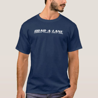 GRAB-A-LANEのロゴ-エコのTシャツ Tシャツ