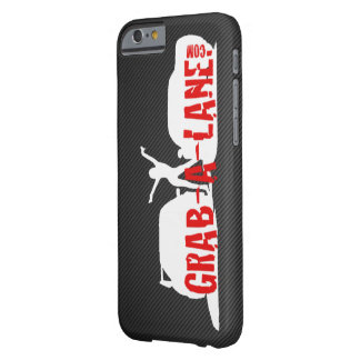 GRAB-A-LANEの元のロゴのiPhone6ケース- White/CF Barely There iPhone 6 ケース