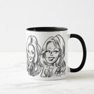 Gracie及びJessieの風刺漫画のマグ2 マグカップ