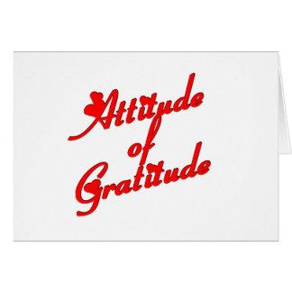 Gradtitudeの態度 カード