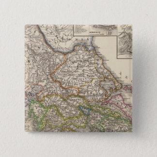 Graecia、Epirusのポストのbellaペルシャ 5.1cm 正方形バッジ