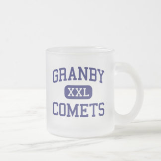 Granby -彗星-高等学校-ノーフォークヴァージニア フロストグラスマグカップ