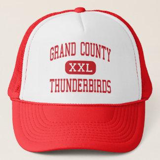 Grand郡-雷鳥-中間-モアブユタ キャップ