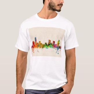 Grand Rapidsミシガン州のスカイラインの都市景観 Tシャツ