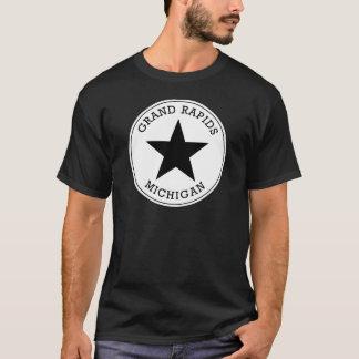 Grand Rapidsミシガン州のTシャツ Tシャツ
