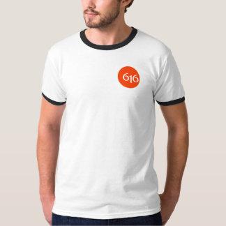 Grand Rapids 616のロゴ Tシャツ