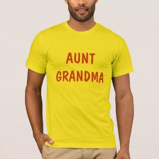 Grandma叔母さん Tシャツ
