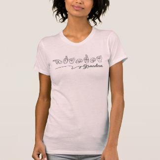 Grandma Sign Language Shirt Tシャツ