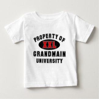 Grandmain大学の特性 ベビーTシャツ