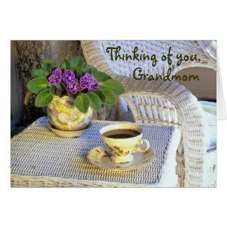 Grandmomのための母の日カード カード