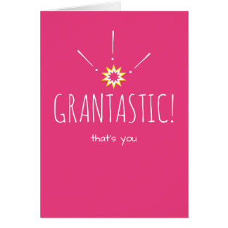 Grantastic!  おばあさんへのハッピーバースデー カード