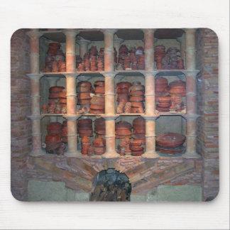 Graufesenque、紀元前のc.150からの陶器のオーブン(写真) マウスパッド