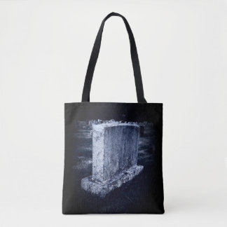 Grave Print All-Over-Print Tote Bag トートバッグ