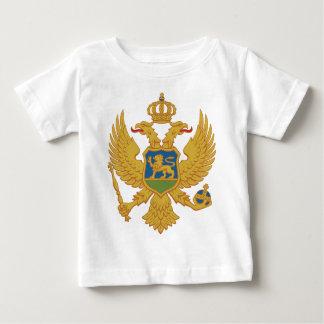 Grb Crneゴアのモンテネグロの紋章付き外衣 ベビーTシャツ