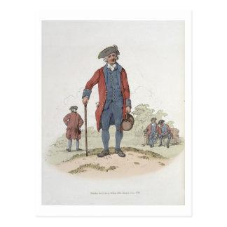 「Great Britainの衣裳からのチェルシーの年金者、 ポストカード