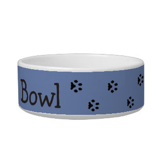 Great custom pet gift for dog or cat owners. ボウル