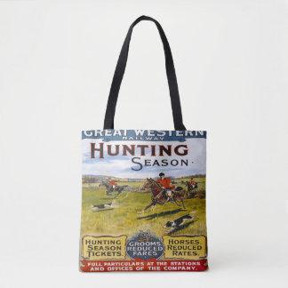 Great Western鉄道の狩猟期のトートバック トートバッグ