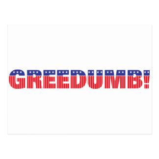 Greedumb ポストカード